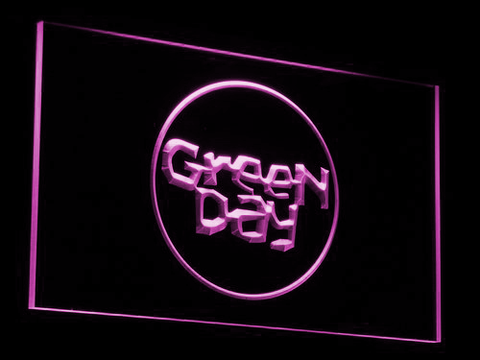Green Day Kerplunk LED Neon Sign - Purple - SafeSpecial