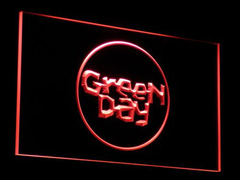 Green Day Kerplunk LED Neon Sign - Red - SafeSpecial