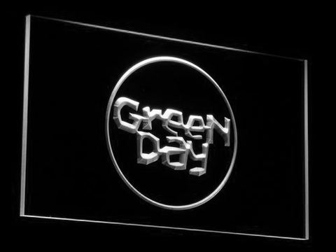 Green Day Kerplunk LED Neon Sign - White - SafeSpecial