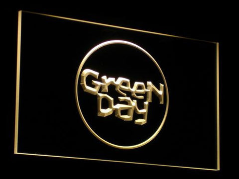 Green Day Kerplunk LED Neon Sign - Yellow - SafeSpecial