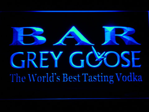 Image of Grey Goose Bar LED Neon Sign - Blue - SafeSpecial