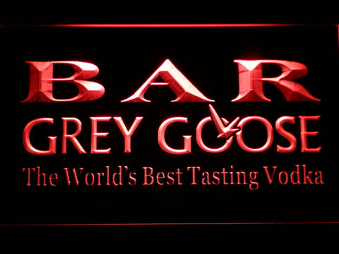 Image of Grey Goose Bar LED Neon Sign - Red - SafeSpecial