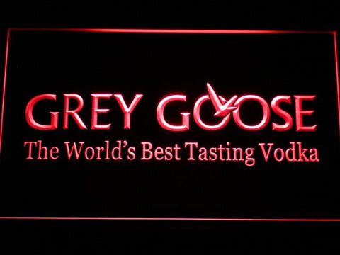 Image of Grey Goose LED Neon Sign - Red - SafeSpecial