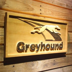 Greyhound Wooden Sign - - SafeSpecial