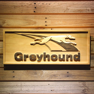 Greyhound Wooden Sign - Small - SafeSpecial