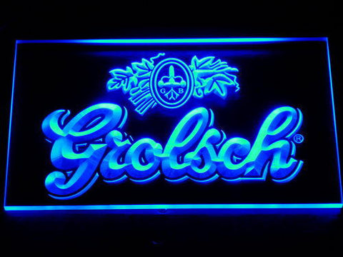 Grolsch LED Neon Sign - Blue - SafeSpecial