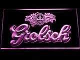 Grolsch LED Neon Sign - Purple - SafeSpecial