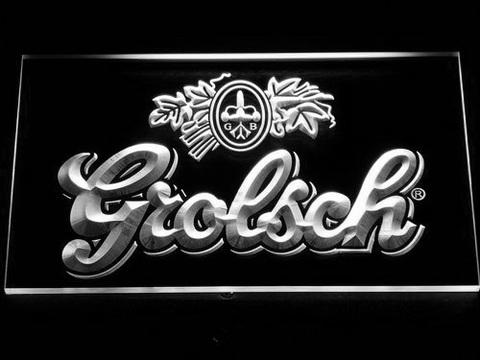 Grolsch LED Neon Sign - White - SafeSpecial