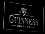 Guinness Draught LED Neon Sign - White - SafeSpecial