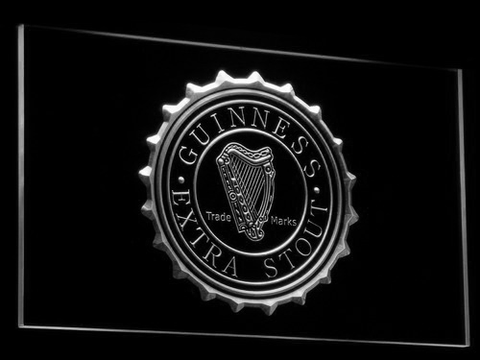 Image of Guinness Extra Stout LED Neon Sign - White - SafeSpecial