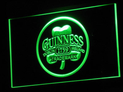 Guinness Ireland LED Neon Sign - Green - SafeSpecial