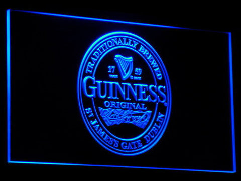 Image of Guinness Original LED Neon Sign - Blue - SafeSpecial