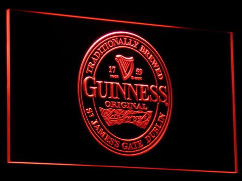 Image of Guinness Original LED Neon Sign - Red - SafeSpecial