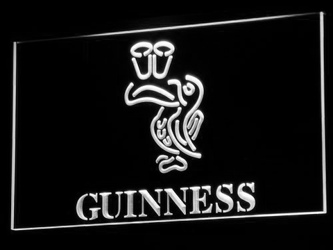 Image of Guinness Toucan LED Neon Sign - White - SafeSpecial