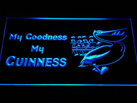 Image of Guinness Toucan - My Goodness LED Neon Sign - Blue - SafeSpecial