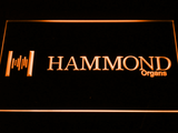 Hammond Organs LED Neon Sign - Orange - SafeSpecial
