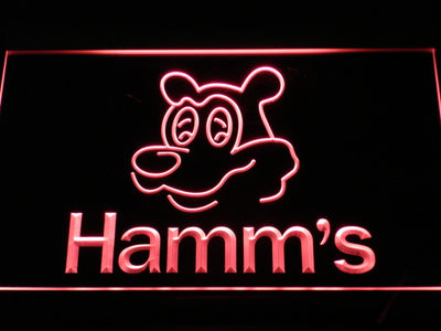 Hamm's Bear LED Neon Sign - Red - SafeSpecial