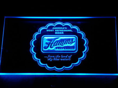 Hamm's Preferred LED Neon Sign - Blue - SafeSpecial