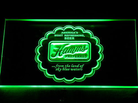 Image of Hamm's Preferred LED Neon Sign - Green - SafeSpecial