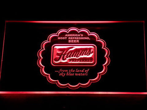 Image of Hamm's Preferred LED Neon Sign - Red - SafeSpecial