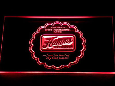 Hamm's Preferred LED Neon Sign - Red - SafeSpecial