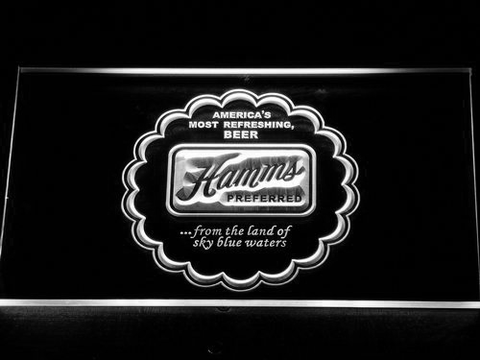 Image of Hamm's Preferred LED Neon Sign - White - SafeSpecial