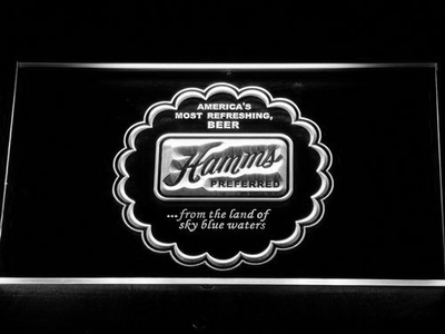 Hamm's Preferred LED Neon Sign - White - SafeSpecial