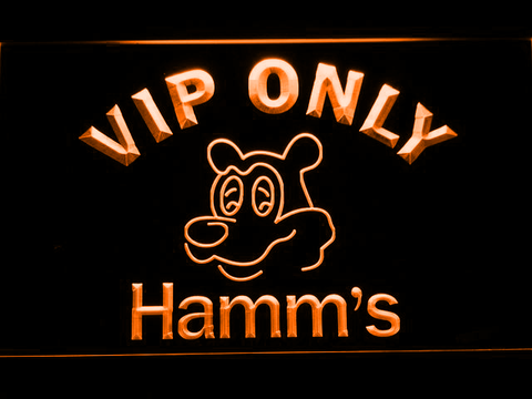 Hamm's VIP Only LED Neon Sign - Orange - SafeSpecial