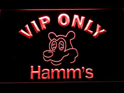 Hamm's VIP Only LED Neon Sign - Red - SafeSpecial