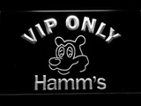 Hamm's VIP Only LED Neon Sign - White - SafeSpecial