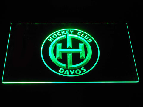 Image of HC Davos LED Neon Sign - Green - SafeSpecial