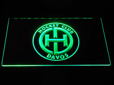 HC Davos LED Neon Sign - Green - SafeSpecial
