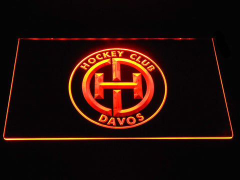 Image of HC Davos LED Neon Sign - Orange - SafeSpecial