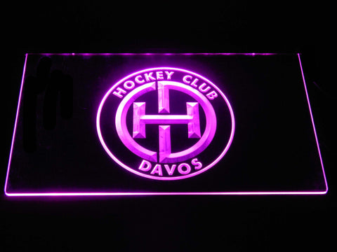 Image of HC Davos LED Neon Sign - Purple - SafeSpecial