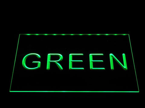 Image of Heerenveen LED Neon Sign - Green - SafeSpecial