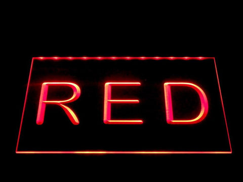 Image of Heerenveen LED Neon Sign - Red - SafeSpecial
