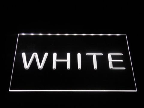 Image of Heerenveen LED Neon Sign - White - SafeSpecial