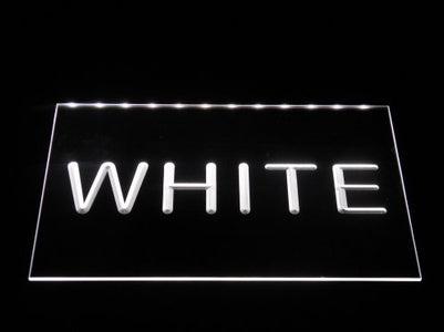 Heerenveen LED Neon Sign - White - SafeSpecial