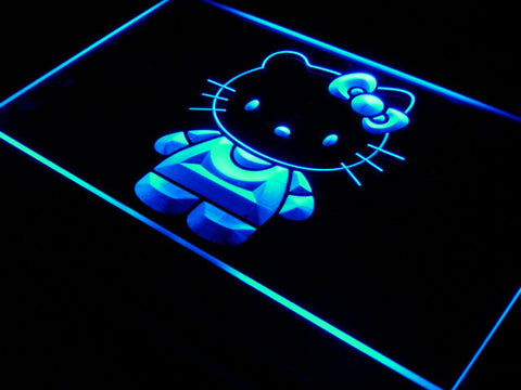 Hello Kitty LED Neon Sign - Blue - SafeSpecial