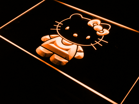 Hello Kitty LED Neon Sign - Orange - SafeSpecial