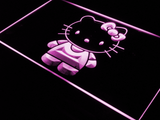 Hello Kitty LED Neon Sign - Purple - SafeSpecial