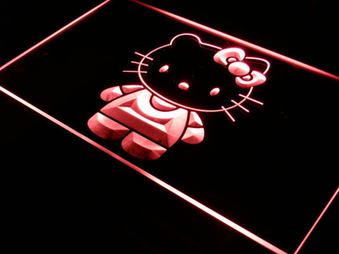 Hello Kitty LED Neon Sign - Red - SafeSpecial