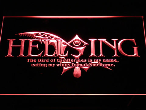 Hellsing LED Neon Sign - Red - SafeSpecial