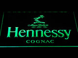 Hennessy Cognac LED Neon Sign - Green - SafeSpecial