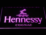 Hennessy Cognac LED Neon Sign - Purple - SafeSpecial