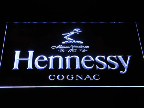 Image of Hennessy Cognac LED Neon Sign - White - SafeSpecial