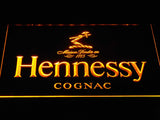 Hennessy Cognac LED Neon Sign - Yellow - SafeSpecial