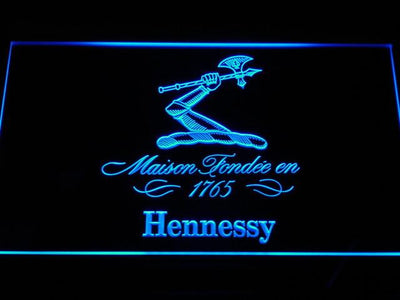 Hennessy LED Neon Sign - Blue - SafeSpecial