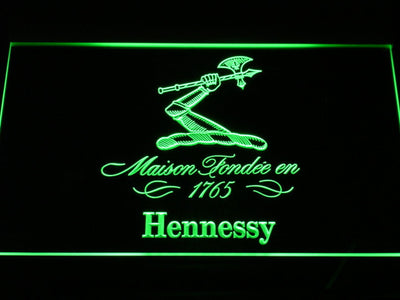 Hennessy LED Neon Sign - Green - SafeSpecial