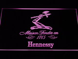 Hennessy LED Neon Sign - Purple - SafeSpecial